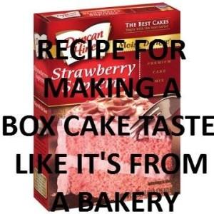 Easiest Homemade Cake